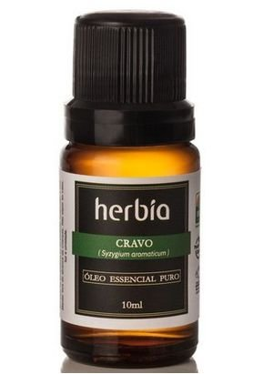 Óleo Essencial de Cravo - 10ml Herbia