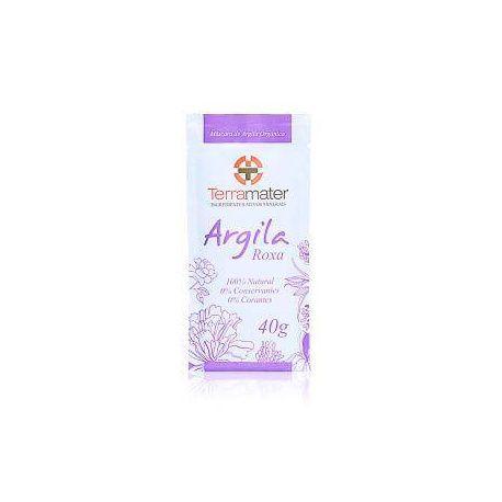 Argila Orgânica Roxa - Terramater 40 gt