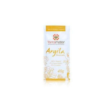 Argila Orgânica e certificada Amareda - terramater 40 gr