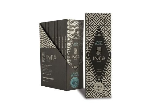 Incenso Sálvia Branca - Inca aromas