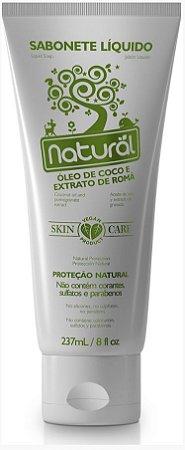 Sabonete Líquido Natural com Óleo de Coco e Extrato de Romã - Orgânico Natural