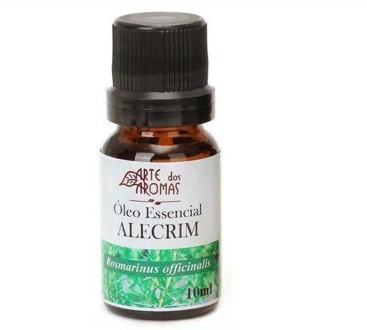 Óleo Essencial Alecrim 10mL - Arte dos Aromas