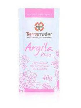 Argila Orgânica Rosa 40g - Terramater
