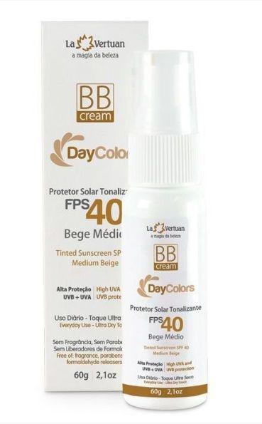 BB Cream - Protetor Solar Tonalizante - CLARO Fps 40  – La Vertuan