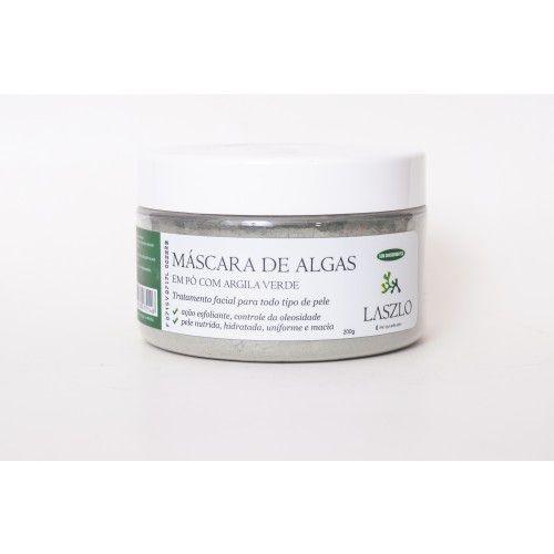 Máscara de Algas com Argila Verde 200g – Laszlo