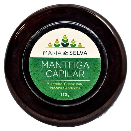 Manteiga Capilar Maria da Selva Orgânica Natural Vegana - Cativa Natureza - 250g