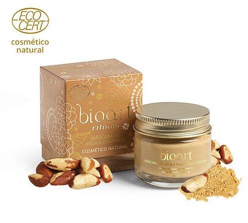 Máscara Iluminadora Bionutritiva ( Argila Dourada e Castanha do Pará ) - Bioart