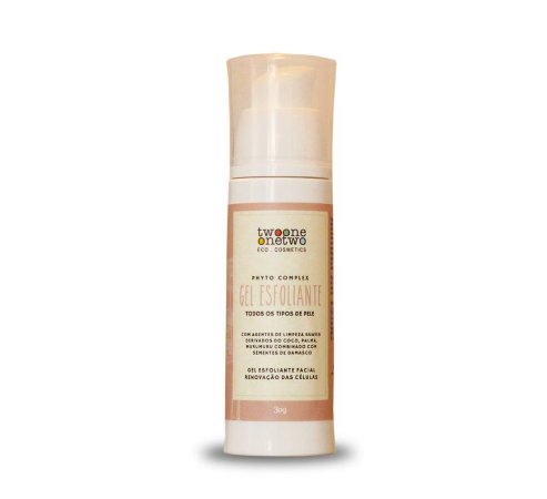 Gel Esfoliante Facial Sulfate Free Vitamina C  - Twoone Onetwo