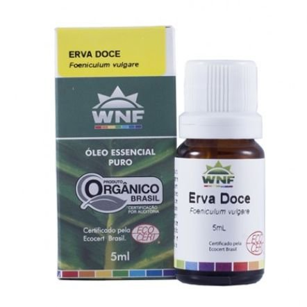 Óleo Essencial Erva Doce 5mL - WNF