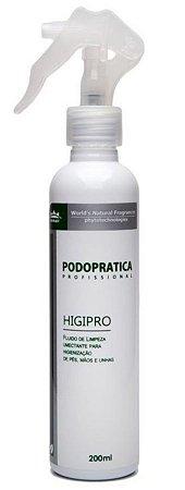 Gel Higienizador Higipro Podoprática WNF - 200ML