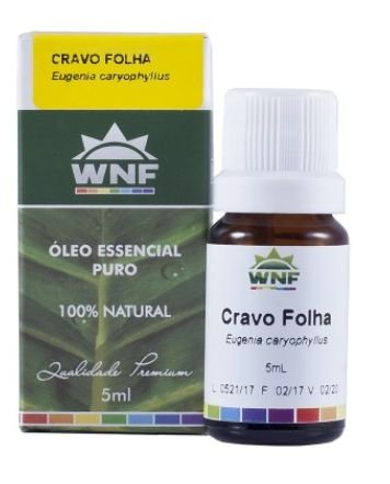 Óleo Essencial Cravo Folha 5mL - WNF