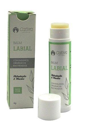 Balm (Labial Orgânico Natural Vegano Sem Cor) - Cativa Natureza