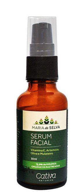Serum Facial Maria da Selva Natural Vegano - Cativa Natureza