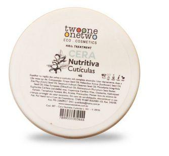 Cera Nutritiva Unhas e Cutículas  - Twoone Onetwo