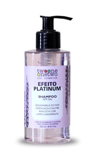 Shampoo Matizante Efeito Platinum 250ml - Twoone Onetwo