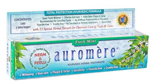 Creme Dental Auromère Fresh Mint 117g -  Auromere