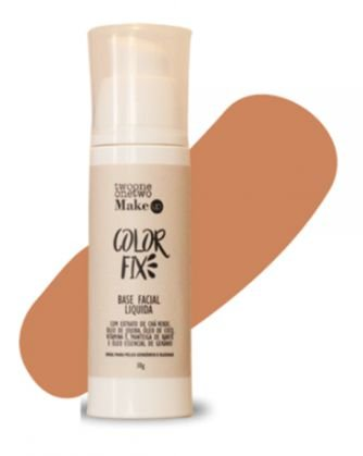 Base Facial Líquida Color Fix Vegana e Natural Cor 05 Média Escuro 30g - Twoone Onetwo