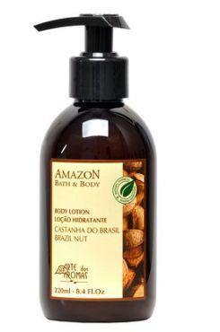 Loção Hidratante Castanha 220ml - Arte dos Aromas