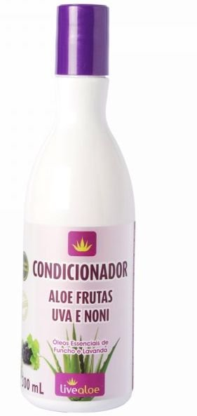 Condicionador Aloe Frutas 300ml - Livealoe