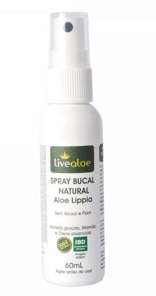 Spray Bucal Natural Aloe Lippia - Livealoe