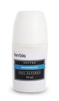 Desodorante Roll-on Natural Neutro 50mL – Herbia