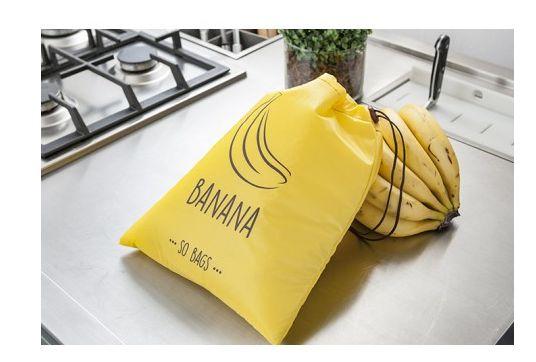 Sacola Reutilizável Bananas - So Bags