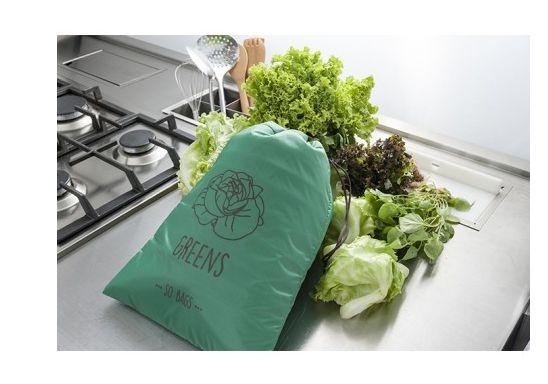 Sacola Reutilizável Greens ( Folhas, Vegatis e Ervas) - So Bags