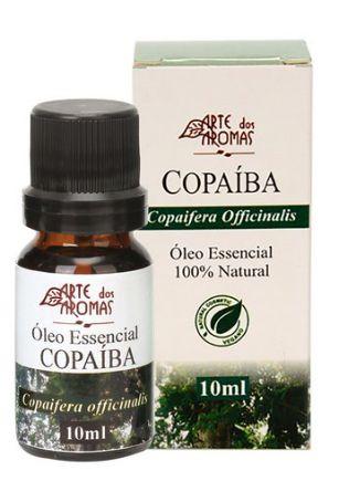 Óleo Essencial Copaíba 10mL - Arte dos Aromas
