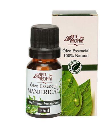 Óleo Essencial Manjericão 10mL - Arte dos Aromas