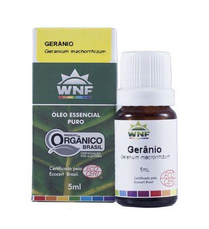 Óleo Essencial Gerânio Brasil 5mL - WNF