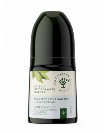 Desodorante Roll On Melaleuca & Hamamélis - Sal da Terra