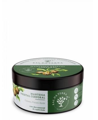 Manteiga Corporal Cupuaçu, Pracaxi e Karité - Sal da Terra