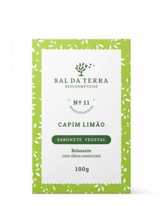 Sabonete Capim Limão - Sal da Terra