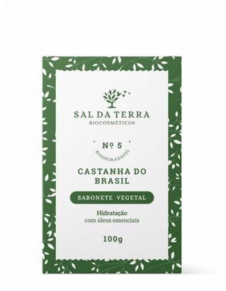 Sabonete Castanha do Brasil - Sal da Terra