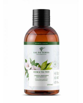 Shampoo Neem & Tea Tree - Sal da Terra