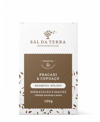 Shampoo Sólido Pracaxi & Cupuaçu - Sal da Terra