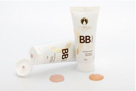 BB Cream 6 em 1 FPS 20 Orgânico Cor 2 -  Cativa Natureza