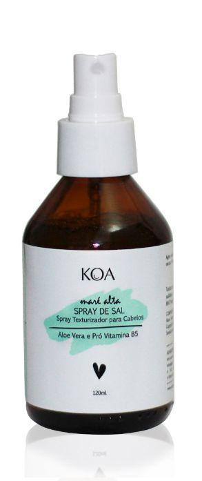 Spray Texturizador para Cabelos com Aloe Vera e Pró Vitamina B5 - Koa