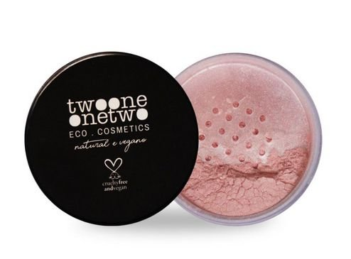 Blush Facial Leite de Coco Cor Rose -  Twoone Onetwo