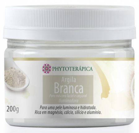 Argila Branca 200gr - Phytoterápica