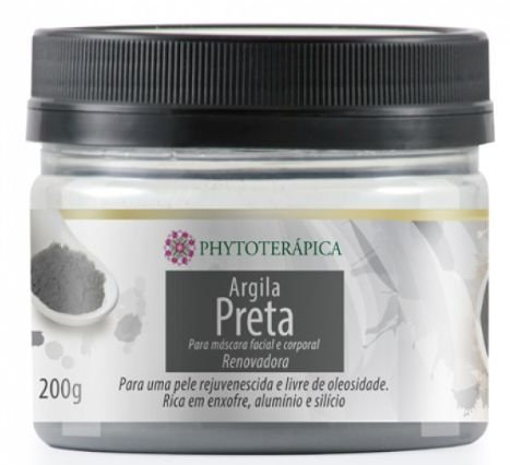 Argila Preta 200gr - Phytoterápica