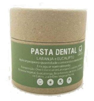 Pasta Dental Laranja e Eucalipto 60g - Unevie