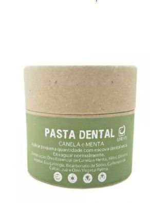 Pasta Dental Canela e Menta 60g - UneVie