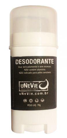 Desodorante Natural 70g -  UneVie