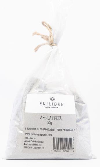 Argila Preta 50gr - Ekilibre Amazônia