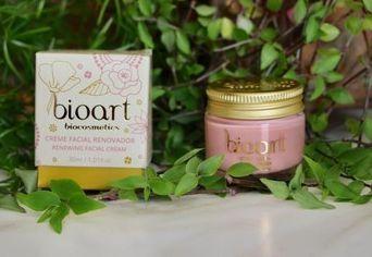 Creme Facial Renovador - Bioart