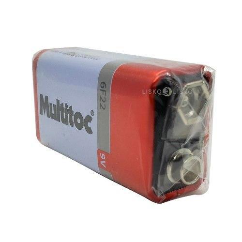 Bateria Alcalina 9V, MULTITOC - MU BA0050