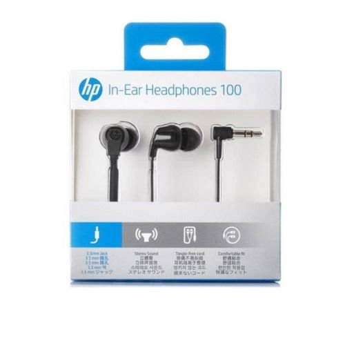 Fone Auricular Intra Preto, HP H100