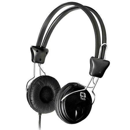 Fone Headphone com Microfone Tricerix, C3TECH MI-2280ERC