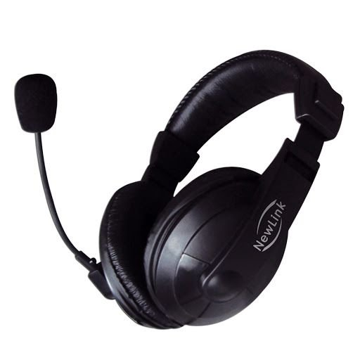 Fone Headphone com Microfone Profissional, NEWLINK HS201 P2